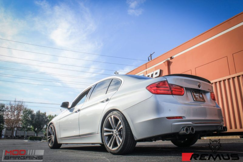 BMW F30 335i Remus Quad Tips (2)