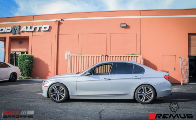 BMW F30 335i Remus Quad Tips (7)