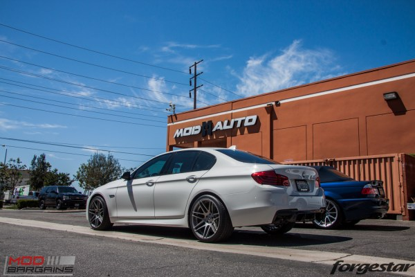 F10 BMW 535i on Forgestar F14s Gets Remus Quad Exhaust