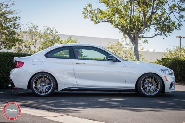 Quick Snap:  BMW M235i on Sportline 8S Wheels