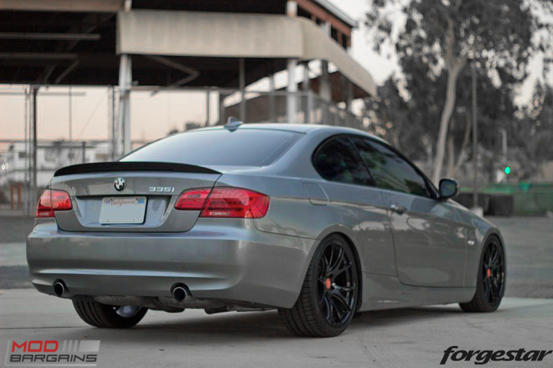 Forgestar CF5V Gloss Black BMW E92 335i img001