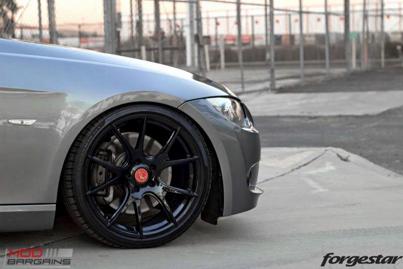Forgestar CF5V Gloss Black BMW E92 335i img004