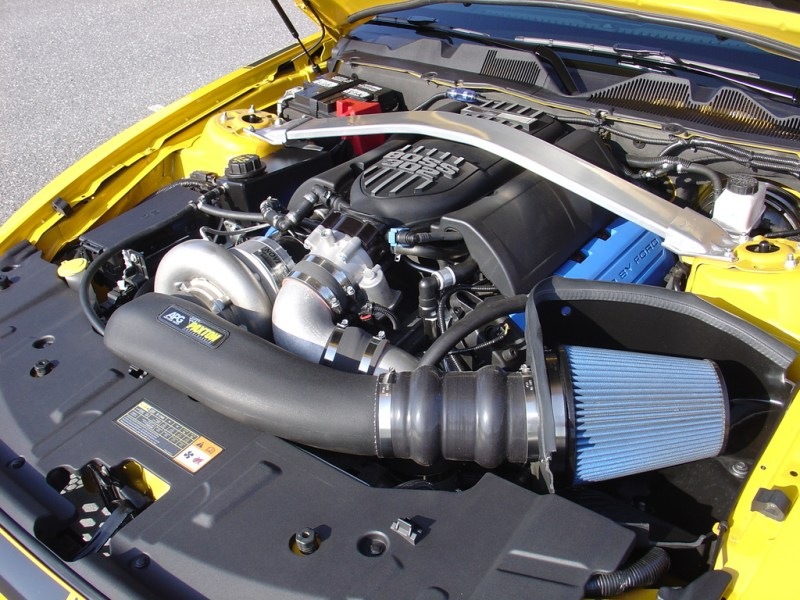 Ford S197 Mustang GT Paxton Supercharger Boss Intake