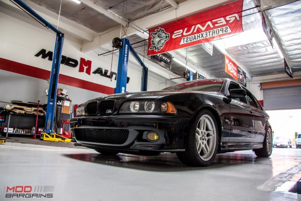 Quick Snap: Dinan Modded E39 BMW 540i on Bilstein PSS Coilovers