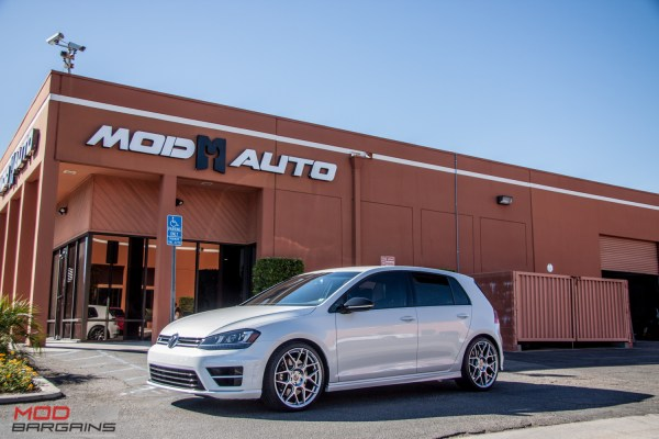 Quick Snap: Mk 7 VW Golf R stuns on HRE FF01 Wheels