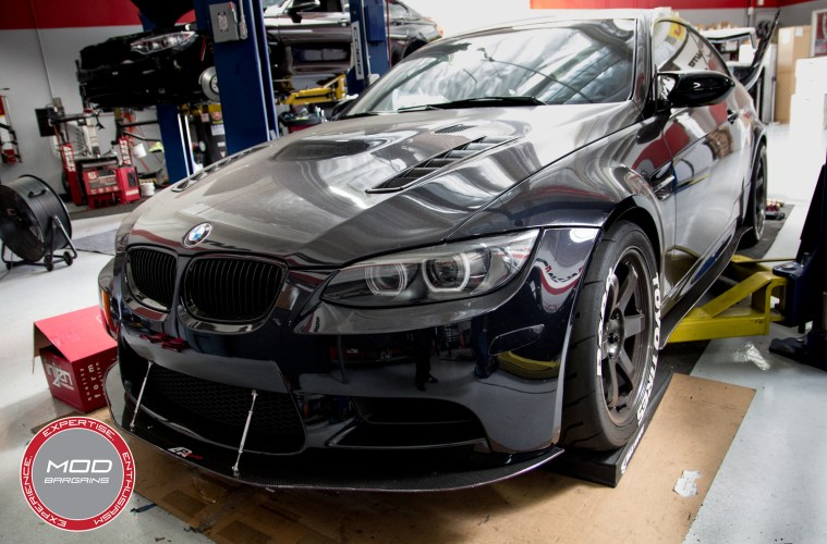 Maximum Performance E92 BMW M3: CSF Cooling Parts with Mod