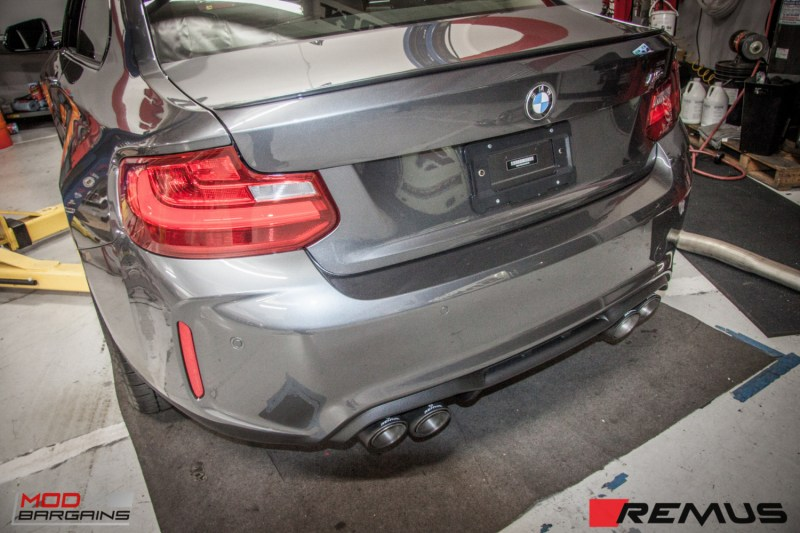 BMW F87 M2 Remus Exhaust (6)