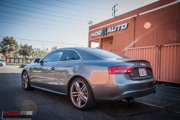 Quick Snap: V8 Audi S5 gets AWE Tuning Exhaust at ModAuto