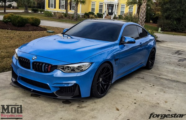 Quick Snap: Dinan-Equipped F82 BMW M4 on Black 20in Forgestar F14s