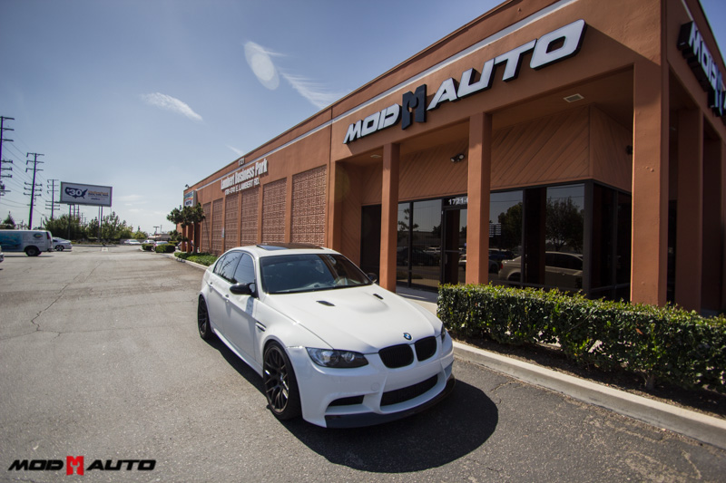 Harrop Supercharged E90 M3 with Remus Exhaust @ ModAuto