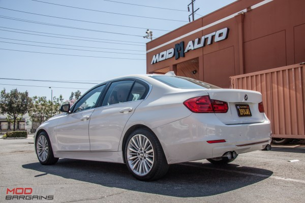 Quick Snap: BMW F30 328i gets Slick Remus Quad Chrome Exhaust