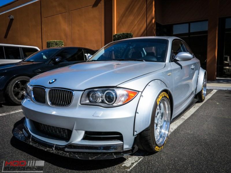 Vargas Turbo'd Widebody E82 BMW 135i visits ModAuto