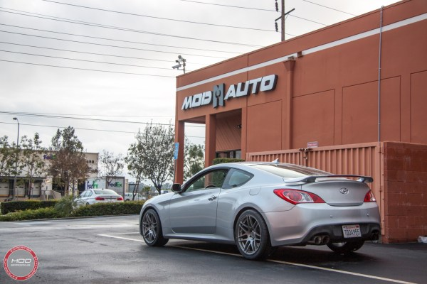 Track-Ready: Hyundai Genesis Coupe on Forgestar F14s & KW Coilovers