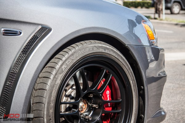 Quick Snap: Mitsubishi Evo X gets Enkei RPF-1s in Tarmac Black