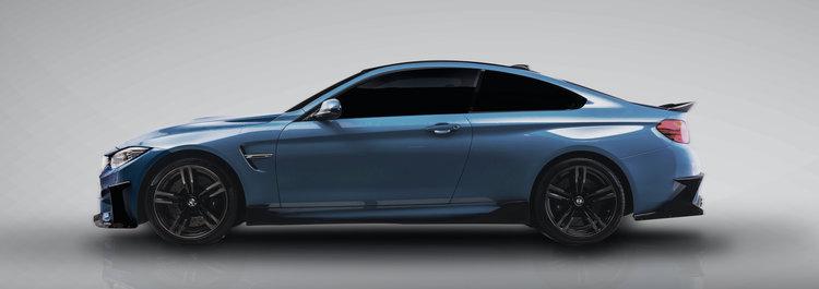 BMW F82 M4 Marina Yas Morph Auto Design Fang Series 1