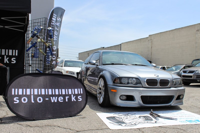 bmw e46 wagon solowerks coilovers lowered