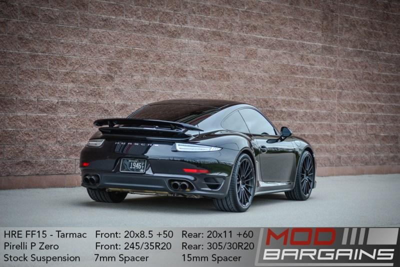 Porsche 911 991 HRE Flow Form FF15 Pirelli P Zero