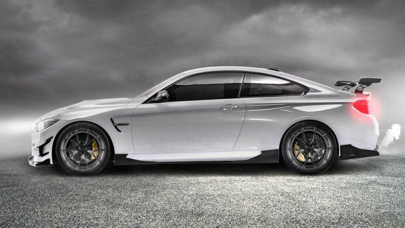 BMW F82 M4 Alpine White Morph Auto Design Fang Series 2