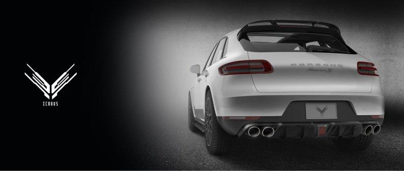 Porsche Macan Morph Auto Designs Icarus