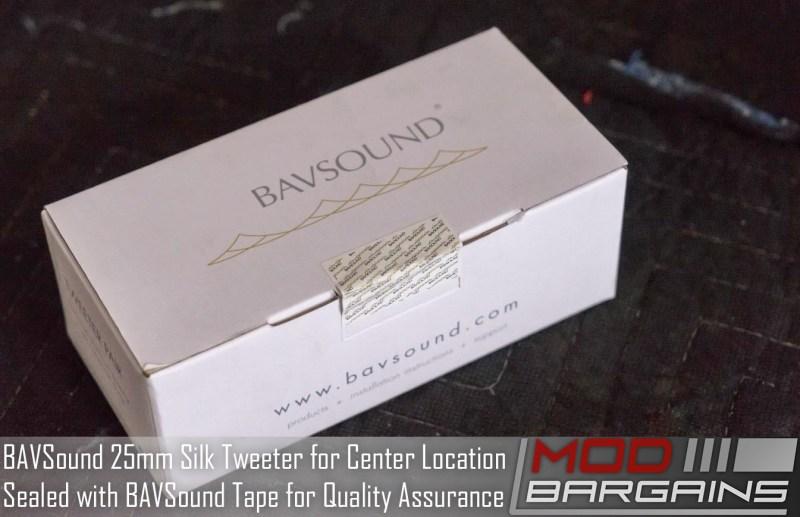 BAVSound 25mm Silk Tweeter Upgrade for BMW F82/F32