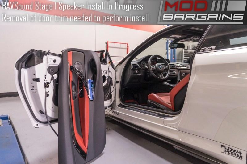 BAVSound Stage One Speaker Upgrade in Progress