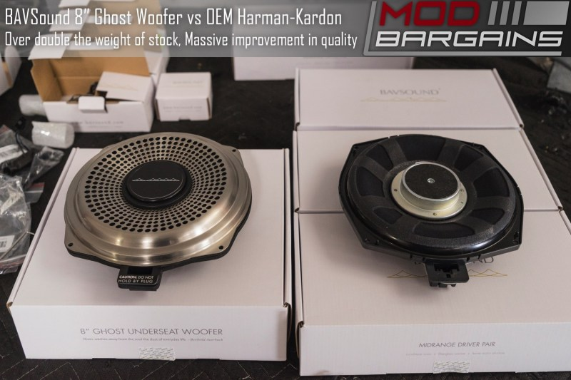 BAVSound Underseat Ghost Woofer V2 vs Harman Kardon