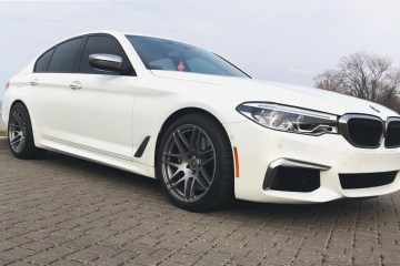 G30, M550i, bmw, forgestar, forgestar f14, BMW M550i, 5 series, wheels, side shot of m550i