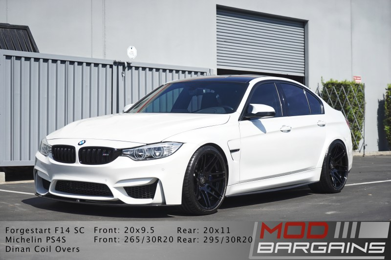 BMW, BMW M3, F80 M3, Performance, side view, forgestar, f14, front side