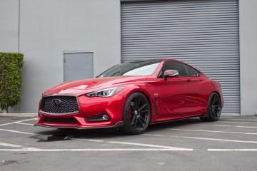 Q60, Infinity, HRE, Red sport, Wheels, Carbon Fiber,