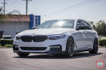 Perfect Wheel Fitment On BMW G30 5 Series With Forgestar F14s