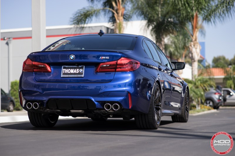 Marina Bay Blue F90 M5 on Vogtland Springs