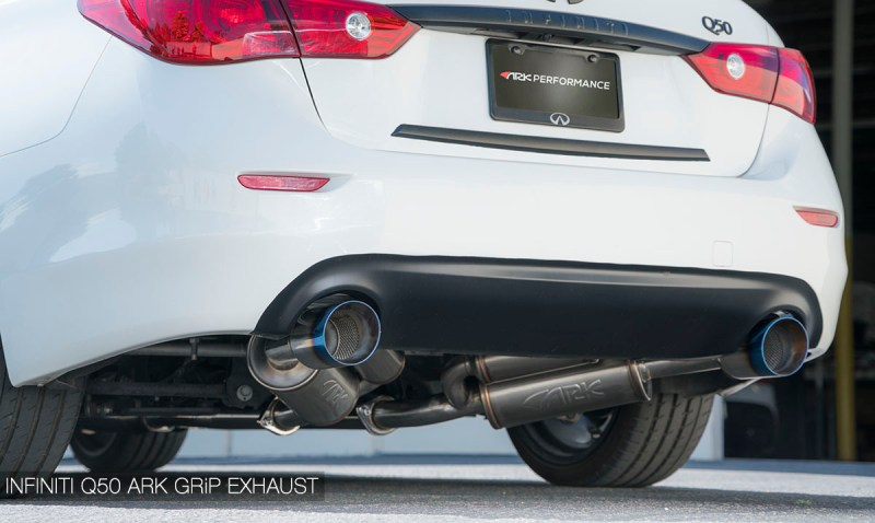 ARK Catback exhaust for Infiniti Q50 3.0t RedSport