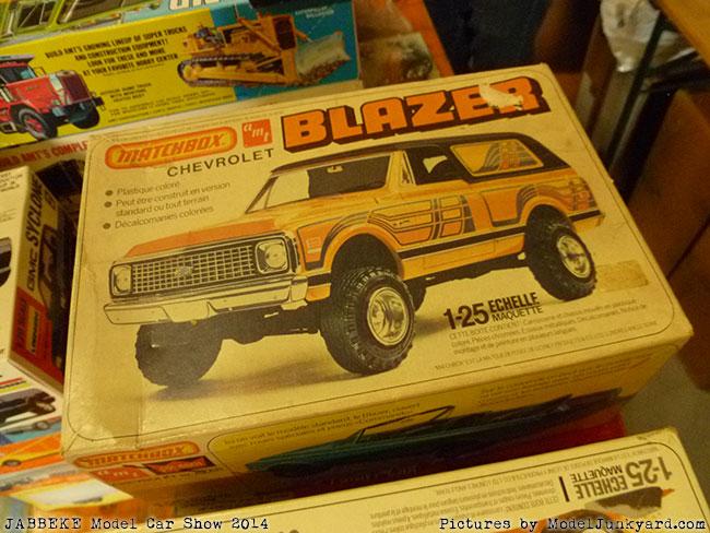 Vintage model kits at Jabbeke 2014 model car show [7]