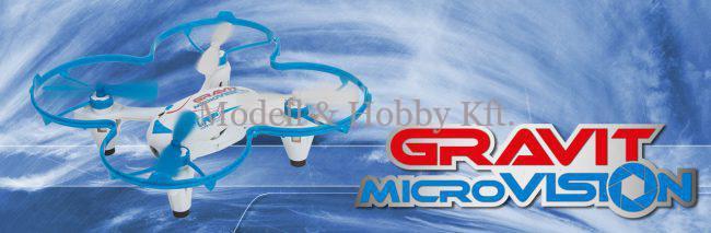 LRP Gravit Micro Vision 2.4GHz Quadrocopter