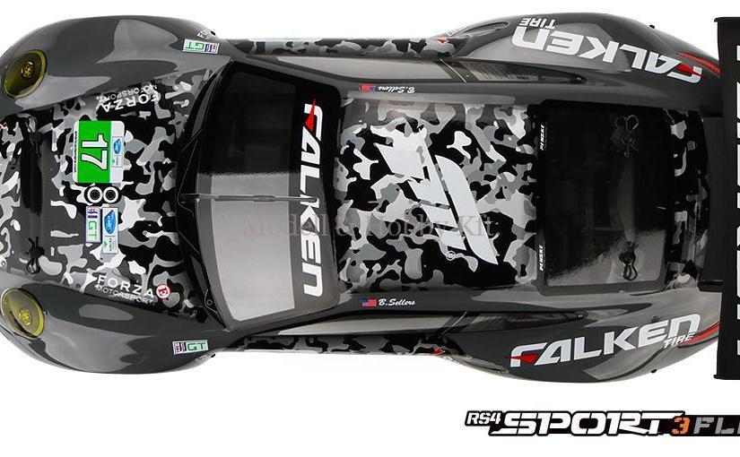 HPI RS4 Sport 3 Flux – 911 GT3 RSR – RTR