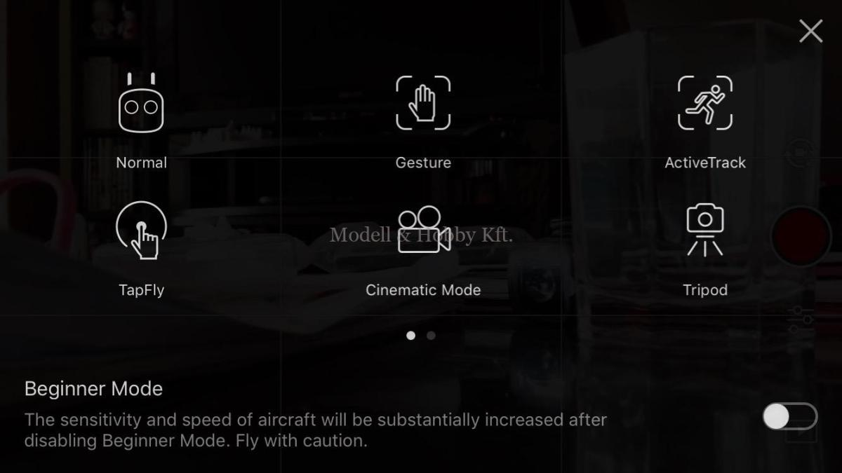 DJI drónok - repülési üzemmódok bemutató