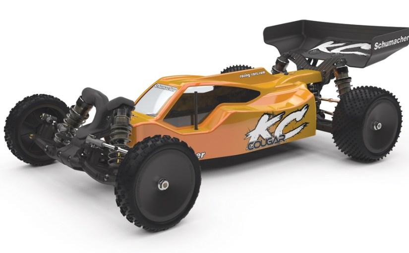 Schumacher Cougar KC 1/10 2WD elektromos buggy modellautó