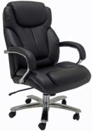 Our Y11075, Leather Big & Tall Chair with 500 lb weight capacity.