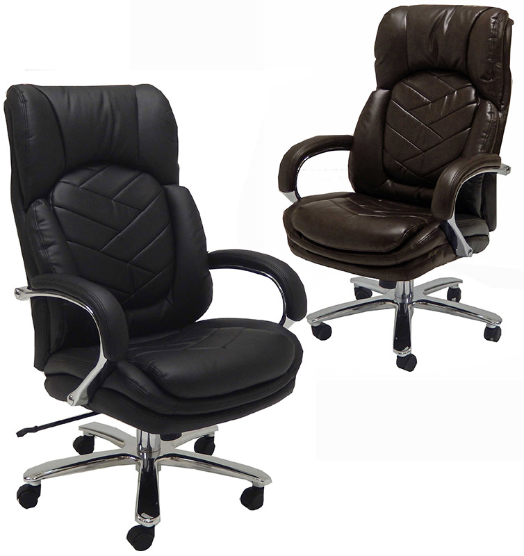 Commodore Ii Big And Tall Leather Executive Office Chair High