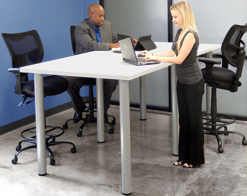 Creating An Inspiring Conference Room Design Modern Office - Standing height meeting table