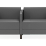 Fremont 2-Seater chairs with shared center arm