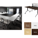 Flip top training tables for your conference room