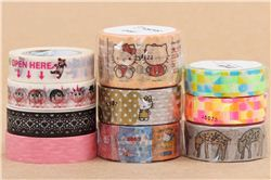 modes4u Facebook Hello Kitty Washi Tape giveaway, ends September 21st, 2015