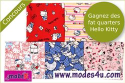 Hello Kitty Fabric Giveaway with Petit Citron, ends May 18th, 2015