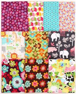 modes4u Flannel Fat Quarter Fabric Facebook giveaway, ends March 23rd, 2015