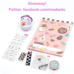 modes4u Spooky Halloween Stationery Giveaway , ends October 16th, 2017