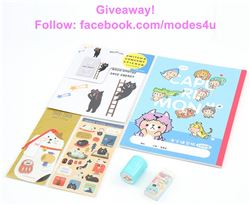 modes4u Animal Stationery Giveaway, ends January 8th, 2018