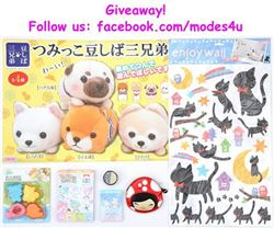 modes4u Kawaii Goodies Giveaway, ends March 6th, 2017