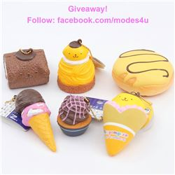 modes4u Dessert Squishies Giveaway, ends April 16th, 2018
