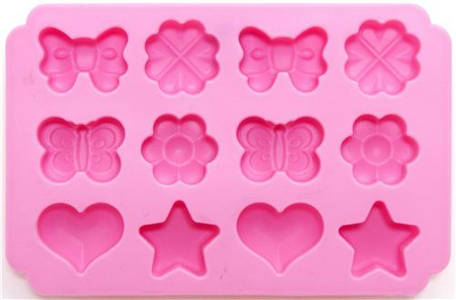 cute mold for chocolates from Japan